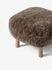 Pouf ATD1 - / Pelle di pecora di &tradition
