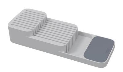 Cuisine - Vaisselle et nettoyage - Range-couteaux Compact / Pour tiroir - Joseph Joseph - Gris - Plastique