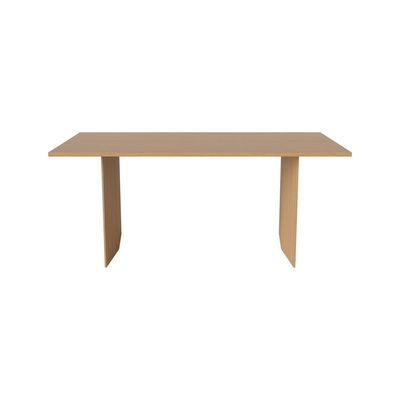 Furniture - Dining Tables - Alp Rectangular table - / 200 x 91 cm - Solid oak by Bolia - Oak -