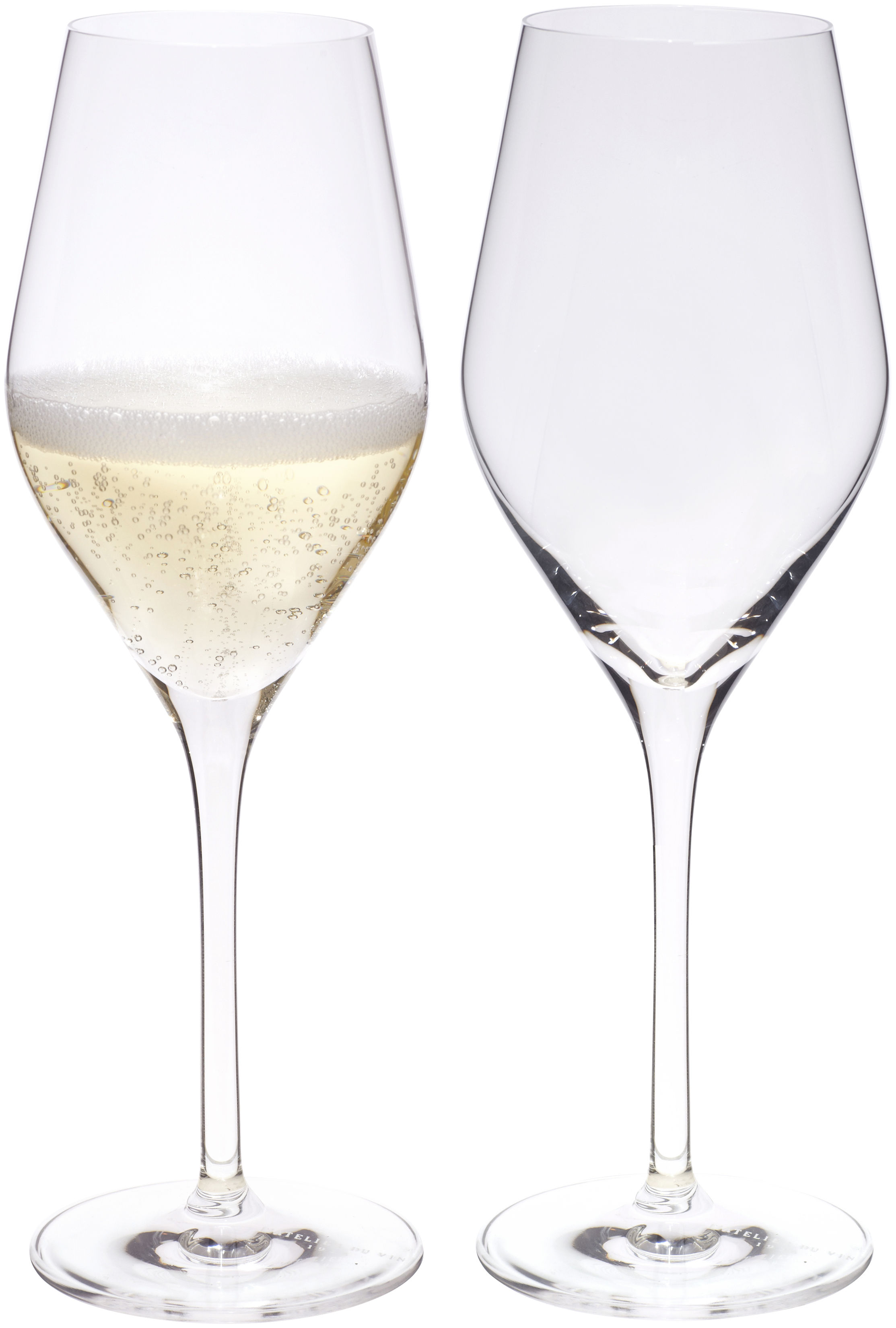 Tischkultur - Gläser - Good Size Sektgläser / 2er-Set - L'Atelier du Vin - Transparent -  Nesium®, Verre cristallin soufflé