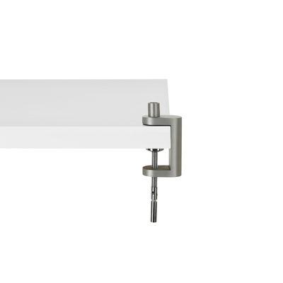 Leuchten - Tischleuchten - Sockel für Schraubstock für Anglepoise-Leuchten - Anglepoise - Verchromt - gebürstetes Aluminium
