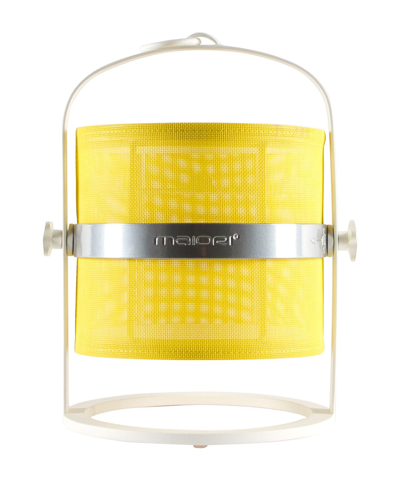 solarlampe la lampe petite led von maiori wei gelb. Black Bedroom Furniture Sets. Home Design Ideas