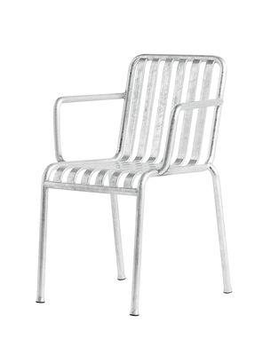 Palissade Stapelbarer Sessel / R und E Bouroullec - Hay - Verzinkter Stahl