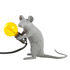 Mouse Sitting #2 Table lamp - / Sitting mouse by Seletti