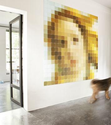 Déco - Objets déco et cadres-photos - Tableau La Naissance de Vénus / 200 x 200 cm - ixxi - Multicolore / Vénus - Papier synthétique