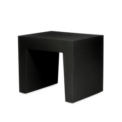 Mobilier - Tables basses - Tabouret Concrete Seat / Table d'appoint - Polyéthylène - Fatboy - Noir - Polyéthylène recyclé