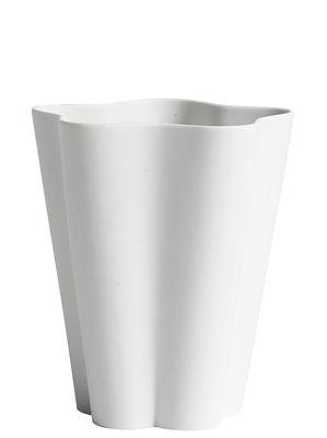 Déco - Vases - Vase Iris Small / Ø 11 x H 13 cm - Fait main - Hay - Blanc - Porcelaine