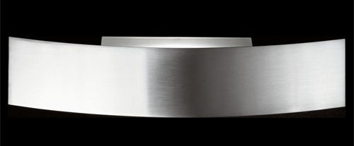 Lighting - Wall Lights - Riga Wall light - 70 cm by Fontana Arte - Steel - Halogen - Nickel-plate metal