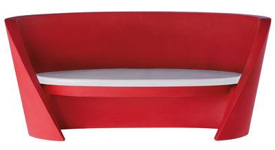 Accessoire canapé Coussin assise pour canapé Rap Slide gris clair en matière plastique