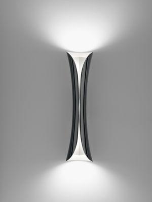 Illuminazione - Lampade da parete - Applique Cadmo LED di Artemide - Nero - Alluminio, Matériau thermoplastique