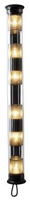 Applique d'extérieur In The Tube 120-1300 / L 132 cm - DCW éditions métal en métal/verre