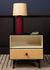Essence Bedside table - / Wood & rattan by Maison Sarah Lavoine