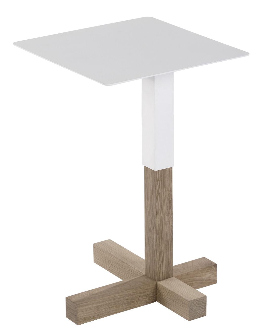 quad holz metall 36 x 36 cm universo positivo beistelltisch. Black Bedroom Furniture Sets. Home Design Ideas