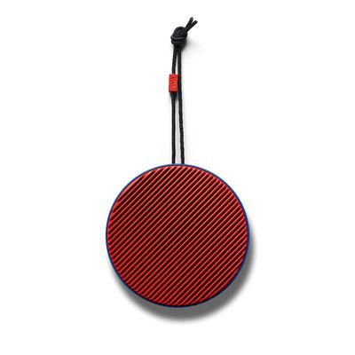 Accessoires - Lautsprecher & Ton - City Bluetooth-Lautsprecher / Kabellos - Ø 10,5 cm - Allround-Sound - Vifa - Ultramarin-Blau / Korallenrot - ABS, Aluminium