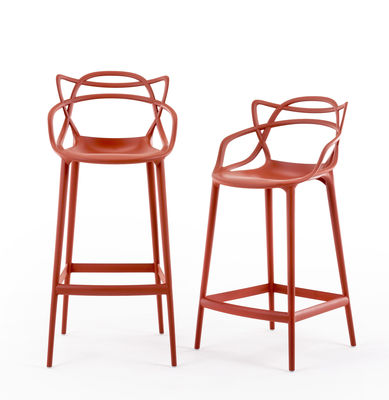 Chaise de bar Masters H 65 cm Polypropylène Kartell