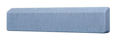 Accessoires - Enceintes audio & son - Enceinte Bluetooth Stockholm / L 110 cm - Tissu - Vifa - Bleu océan - Aluminium, Tissu Kvadrat