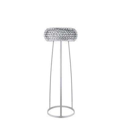 Lighting - Floor lamps - Caboche Floor lamp - Medium / Halogen source - Ø 50 x H 154 cm by Foscarini - H 154 cm / Transparent - Lacquered aluminium, PMMA