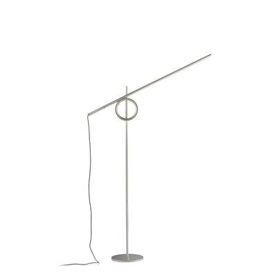 Liseuse Tangent Medium LED / Orientable - H 141 cm - Pallucco argent en métal