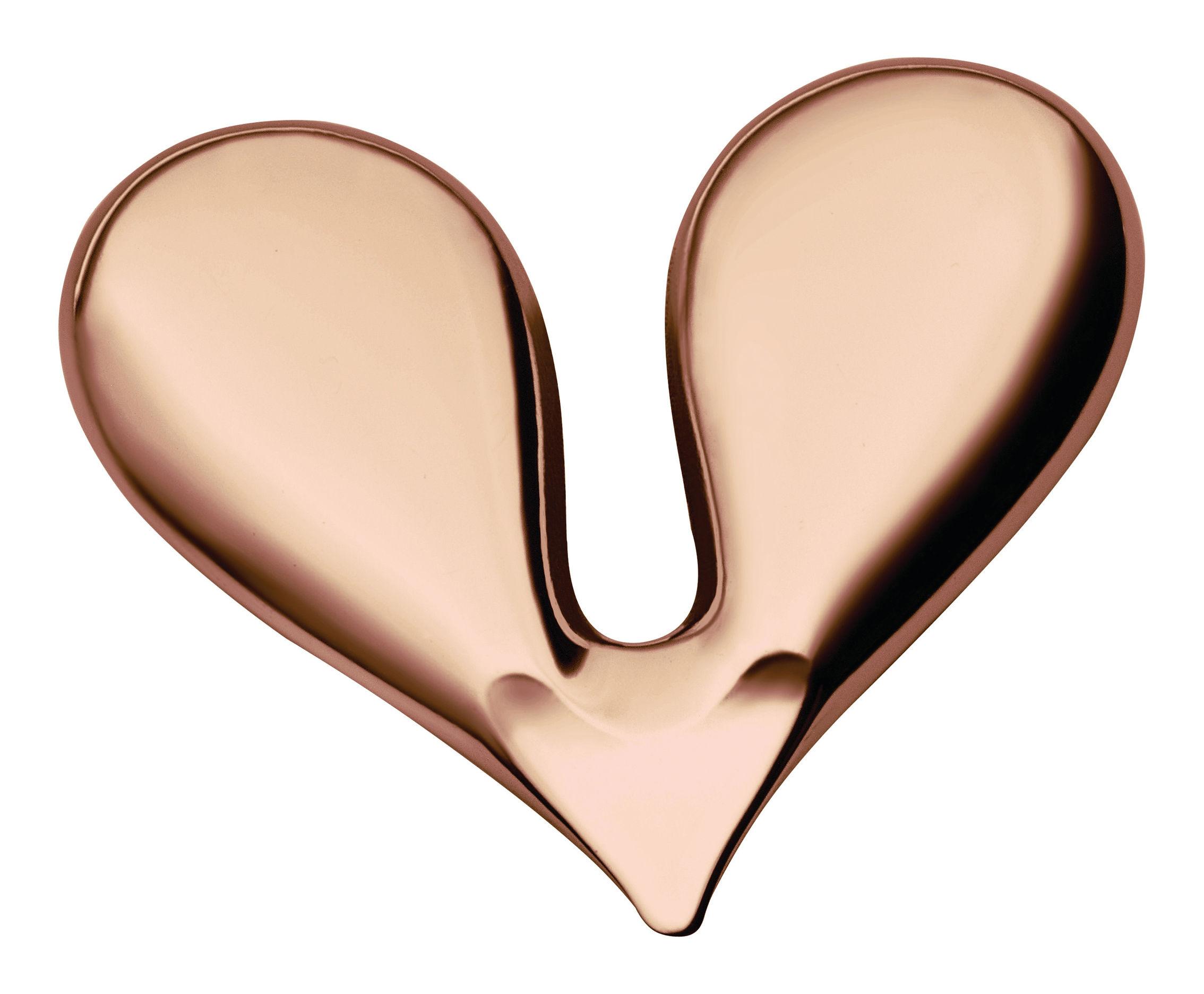 Kitchenware - Kitchen Equipment - Nut Splitter Nut cracker by Alessi - Golden pink - Stainless steel 18/10