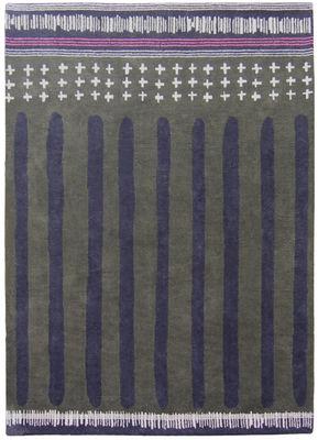 Decoration - Rugs - Barnabé Rug - By Ines de la Fressange / 170 x 240 cm by Toulemonde Bochart - Khaki - Cotton