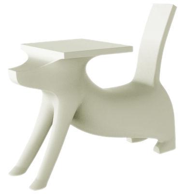 Arredamento - Mobili per bambini - Scrivania bimbi Le Chien Savant - / Con sedia integrata di Magis Collection Me Too - Bianco - Polietilene