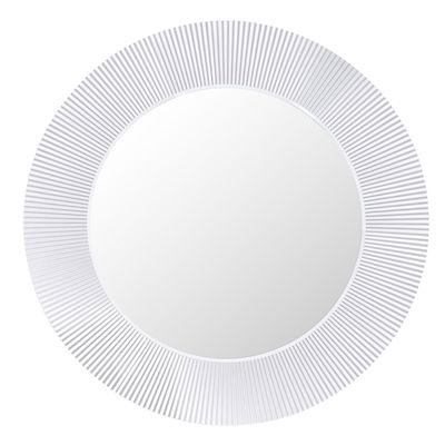 Accessoires - Accessoires für das Bad - All Saints Spiegel leuchtend LED / Ø 78 cm - Kartell - Transparent (farblos) - PMMA, Spiegel-Finish