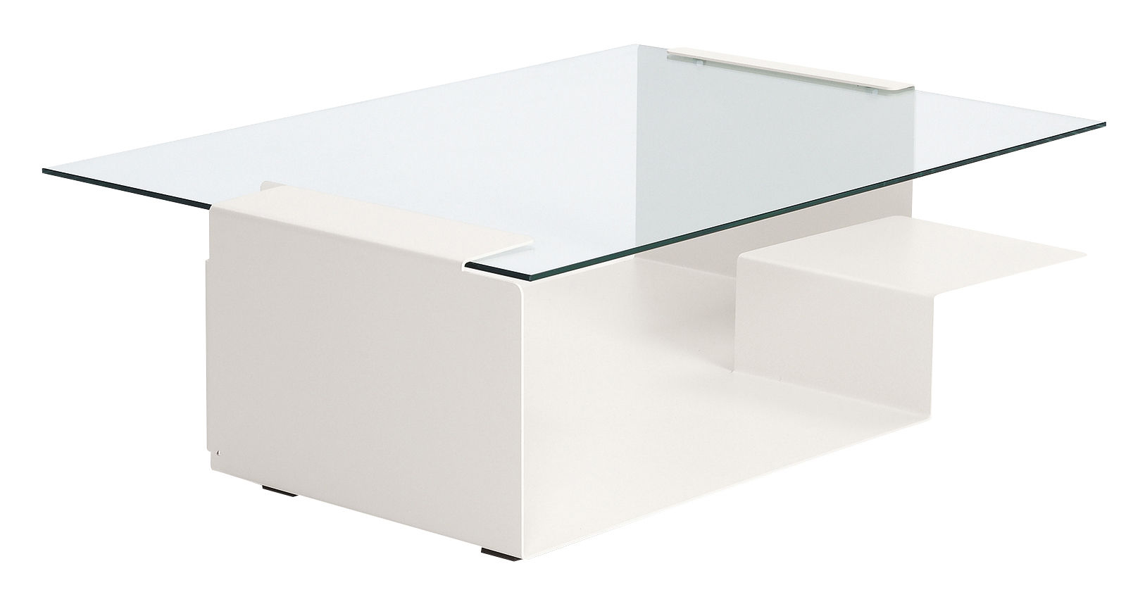 Mobilier - Tables basses - Table basse Diana D - ClassiCon - Blanc - Verre