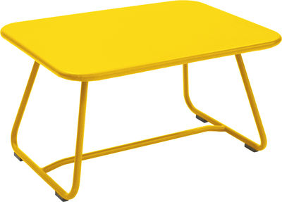 Table basse Sixties / Acier - 75 x 55 cm - Fermob miel en métal