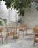 Table carrée Linear Café / 70 x 70 cm - Acier - Muuto