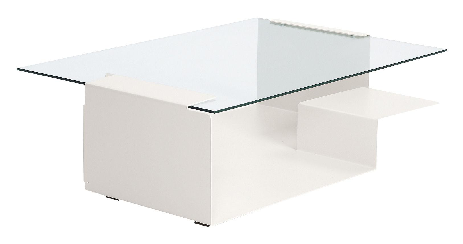 Arredamento - Tavolini  - Tavolino Diana D di ClassiCon - Bianco - Vetro