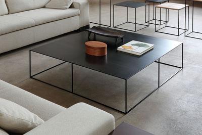 Zeus Slim Irony Coffee Table White Made In Design Uk