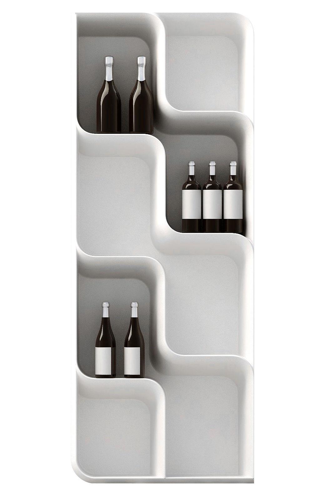 Mobilier - Etagères & bibliothèques - Etagère Baraonda / 205 x 80 cm - MyYour - Blanc - Poleasy®