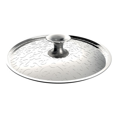 Kitchenware - Pots & Pans - Dressed Lid - Ø 20 cm by Alessi - Stainless steel - Steel