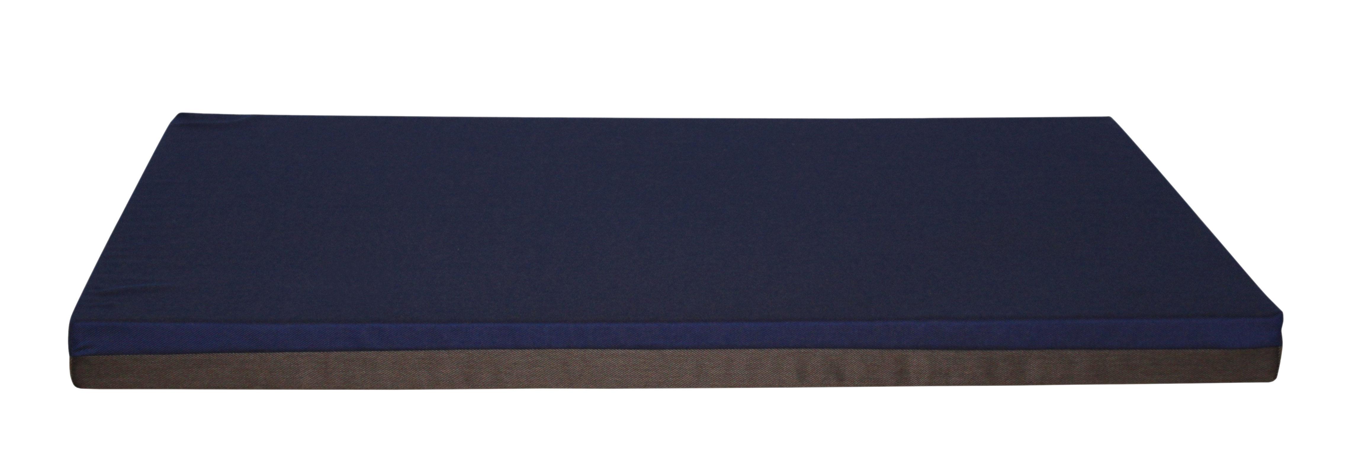 Mobilier - Compléments d'ameublement - Matelas Connect / Big - Avec aimants - Trimm Copenhagen - Bleu nuit / Chocolat - Mousse, Tissu Acrisol Twitell