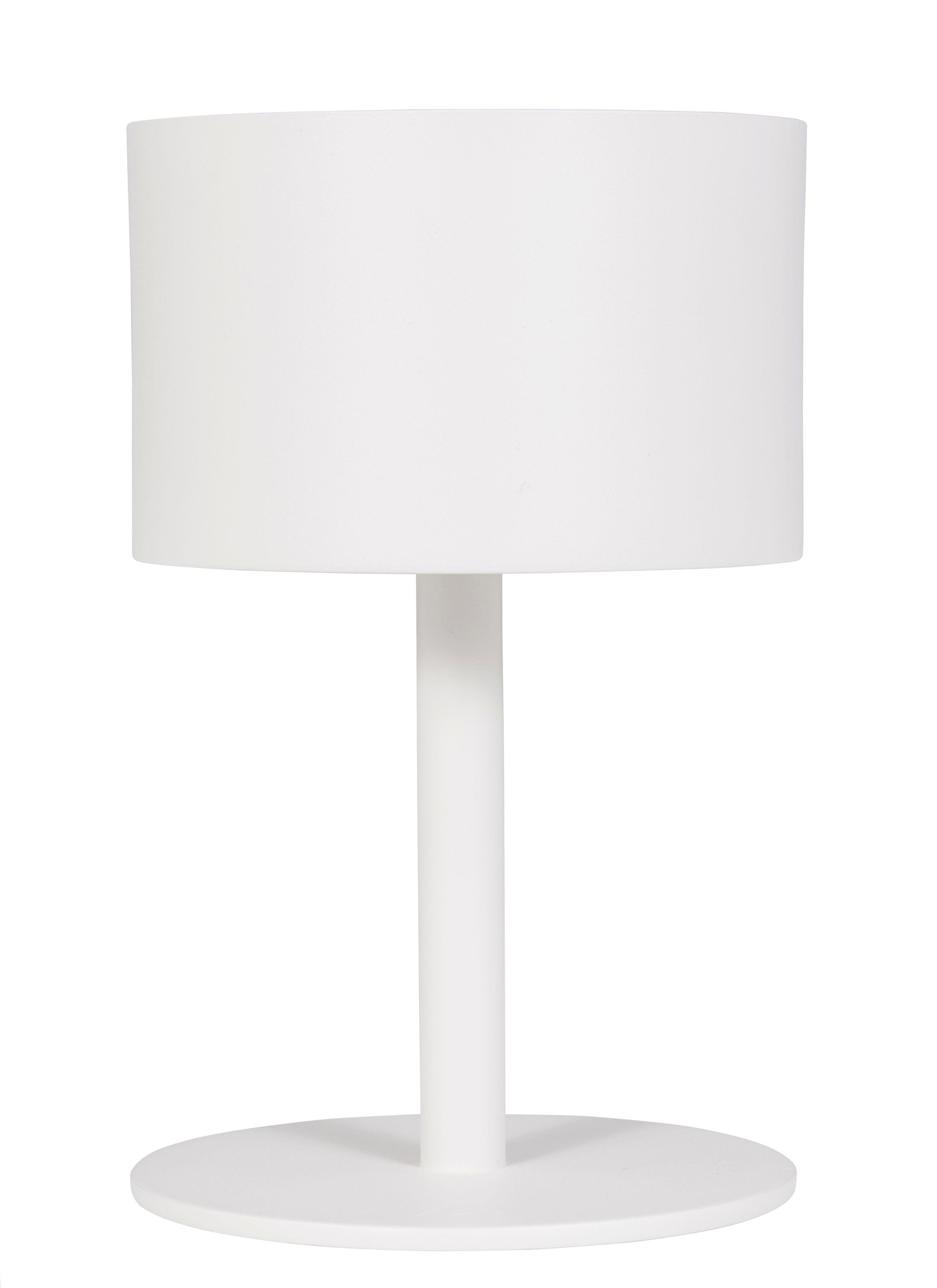 Leuchten - Tischleuchten - La Lampe Pose 01 Solarlampe / LED - kabellos - Maiori - Weiß - Aluminium