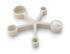 Sottopentola - / Cucchiai dosatori integrati - Silicone morbido di Eva Solo