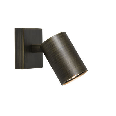 Luminaire - Appliques - Applique Ascoli / Plafonnier - Spot orientable - Astro Lighting - Bronze - Acier