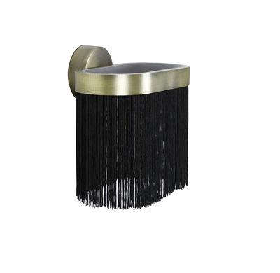 Applique Galon Large / LED - L 24 cm - ENOstudio noir,laiton en métal
