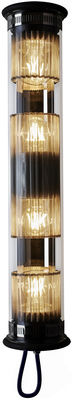 Image of Applique In The Tube 120-700 - / L 72 cm di DCW éditions - Argento,Trasparente - Metallo