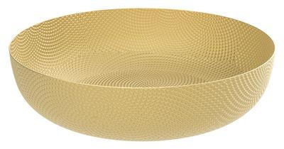Tableware - Fruit Bowls & Centrepieces - JM 17 Basket - / Brass - Ø 21 cm by Alessi - Brass - Brass