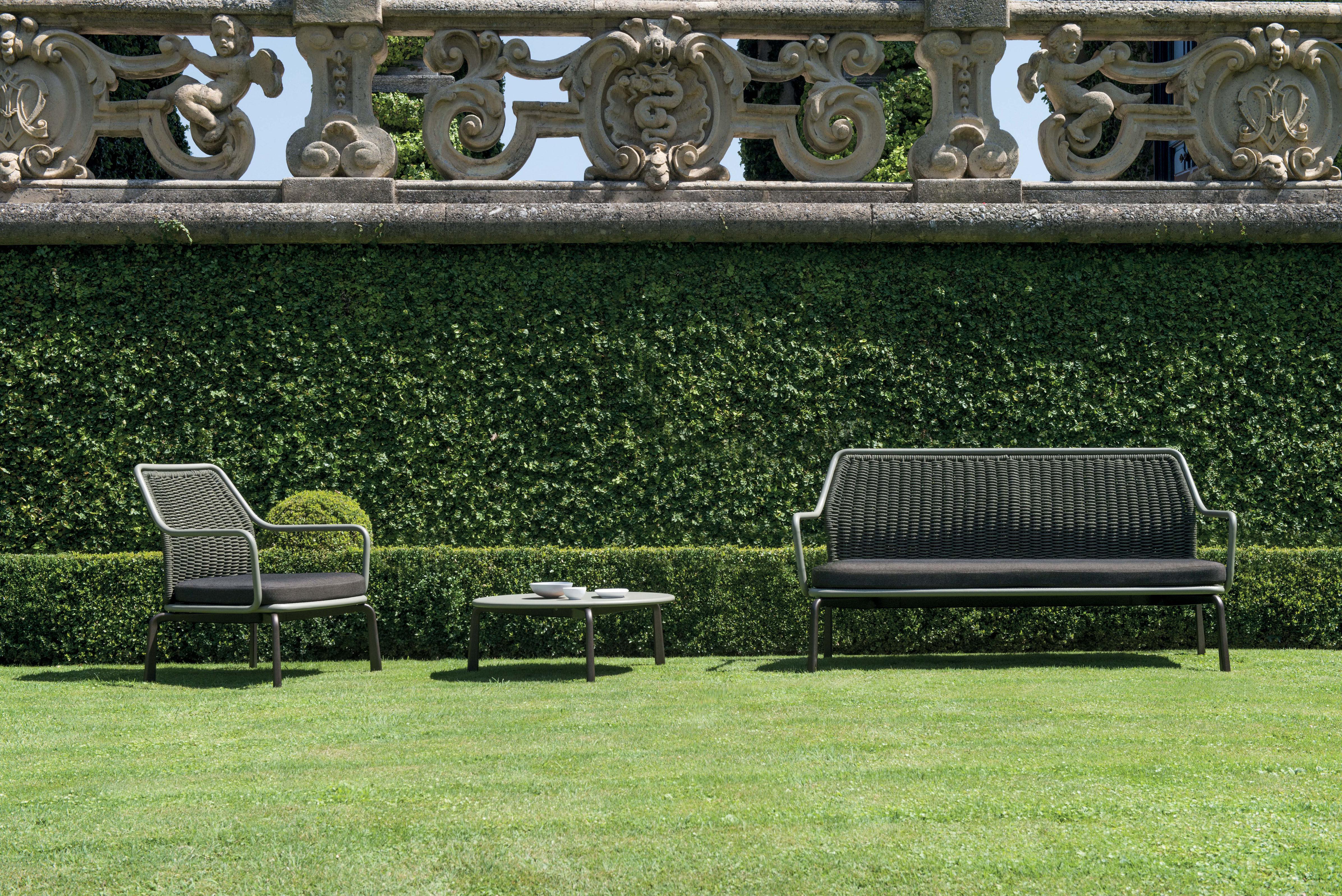 Sofa 2 Sitze Cross von Emu - Grün | Made In Design