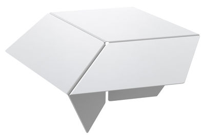 Furniture - Coffee Tables - Kuban Coffee table by Matière Grise - White - Steel