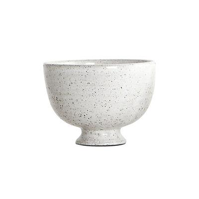 Coupelle By Hand / Ø 11 x H 8 cm - Céramique - House Doctor blanc moucheté en céramique