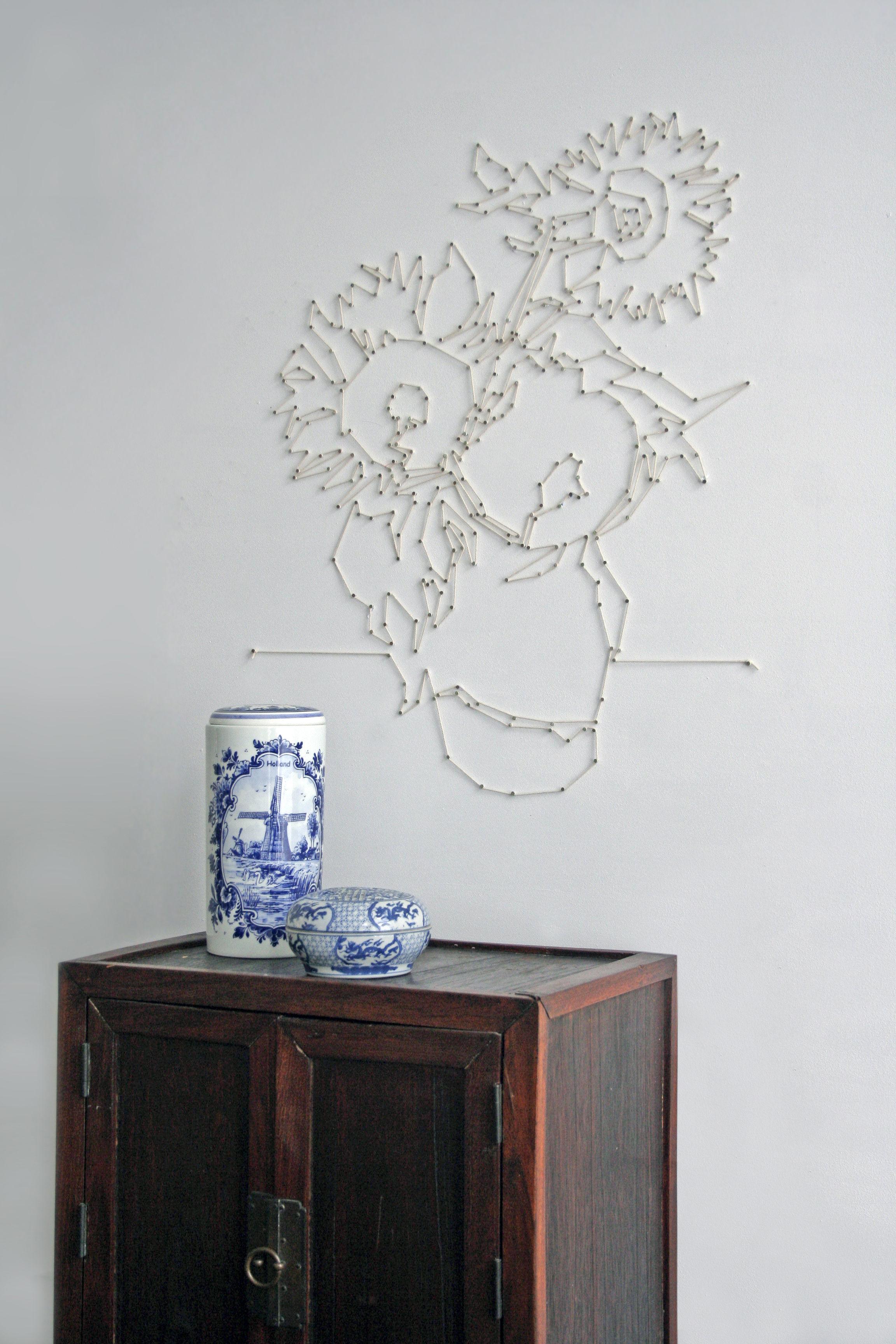 kit d coration masterpieces patron pour tableau en fil tendu blanc pa design made in design. Black Bedroom Furniture Sets. Home Design Ideas