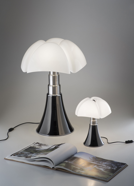 Lampe De Table Minipipistrello Led Martinelli Luce Or Abat Jour