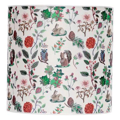 Lighting - Table Lamps - Lampshade - Printed - Ø 30 x H 30 cm by Domestic - Autumn - Ø 30 x H 30 cm - Silkscreen printed cotton