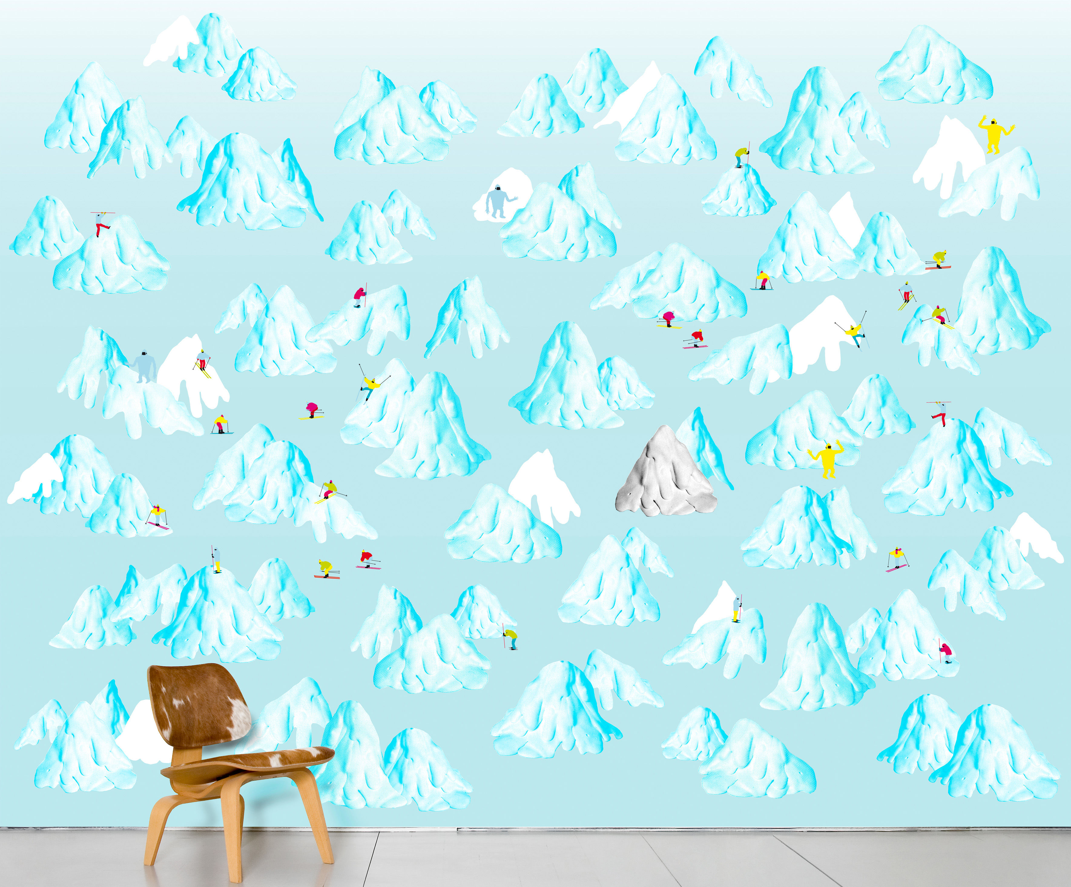 Decoration - Wallpaper & Wall Stickers - Schuss Panoramic Wallpaper by Domestic - Schuss - Intisse paper
