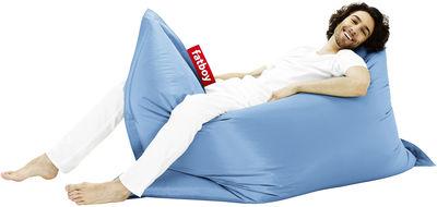 Pouf The Original - Fatboy Larg 140 x L 180 cm bleu glace en tissu