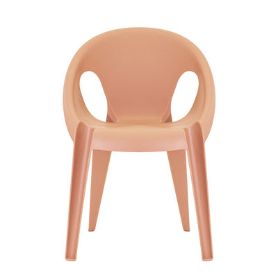 Möbel - Stühle  - Bell Stapelbarer Sessel / By Konstantin Grcic / recyceltes Polypropylen- Öko-Design - Magis - Orange Sunrise - Recyceltes Polypropylen