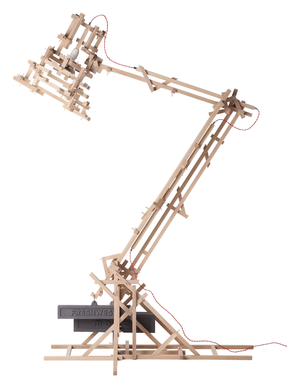 Leuchten - Stehleuchten - Brave New World XL Stehleuchte H 270 cm - Moooi - Eiche natur - H 270 cm - Eiche natur, Gusseisen